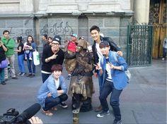 Super Junior in Chili