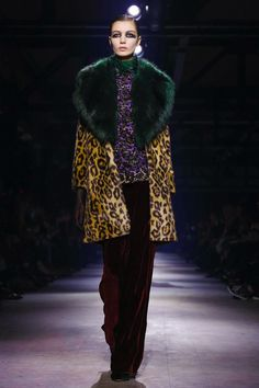 Dries Van Noten Fall/Winter 2016-2017 RTW PFW
