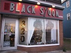 The Black Spoon a wonderful little Bistro in North Sydney ,the food is amazing .A must try it .  320 Commercial Street   North Sydney, NS B2A 1C2