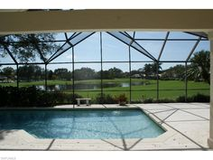 Beautiful single family home in Wyndemere Country Club in Naples FL 885 Wyndemere Way.  Large lanai with pool and spa overlooking the golf course and lake.  $1.195 million.  #naplesgolfcommunities, #naplesgolfhomes, #Napleshomes, #WyndemereHomes, #Naplesgolfguy