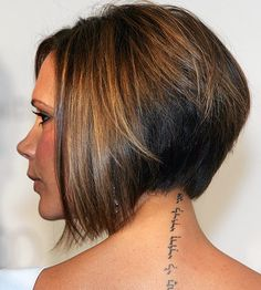 Next haircut idea - mine would probably, day to day, be more textured than sleek. :)