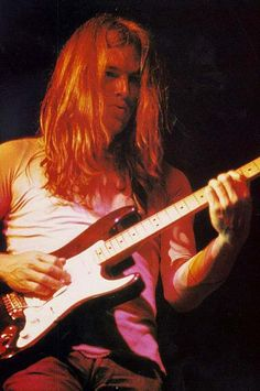 David Gilmour early 1970s