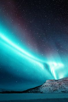 Electric Blue Northern Light