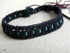 saraccino: Crochet bracelet
