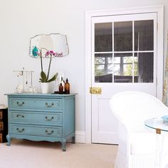 Main bedroom chest of drawers | Be inspired by a country house in Norfolk | housetohome.co.uk