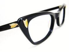Vintage BL Cats Eye Eyeglasses Sunglasses by Vintage50sEyewear, $89.00