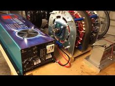 5e5f0236c11 NEW HyperPhase Generator w   400 Inverter (Raw Video) - YouTube Magnetic  Generator