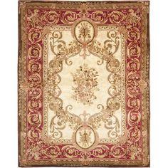 Safavieh Empire Louis XVI Gold/Red Area Rug