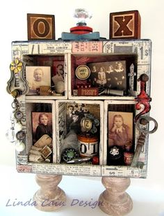 FRIENDS in ART: My Take on a Tim Holtz Configuration 5.5