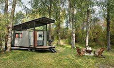 The gorgeous Roadhaus RV soaks up sunlight with a glass-enclosed roof