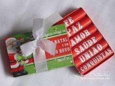 Lembrança/Mimos de Natal | Caixinha Personalizada de Baton by Ligia Batalha, via Flickr