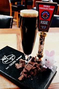 This is the best Valentines Day beer!Rogue Double Chocolate Stout