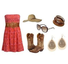 Cute summer look  ~~country fashion~~