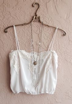 Blush Pink Camisole with gorgeous Lace details romantic crop top for summer festival