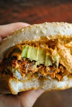 The best spicy vegan Tex-Mex burgers