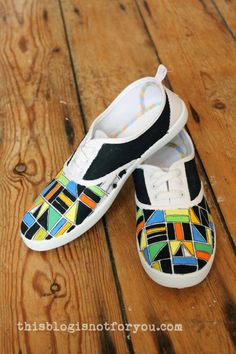 Painted Shoes DIY #1