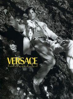 Versace 1993 Photographer : Bruce Weber Model : Paul Korver