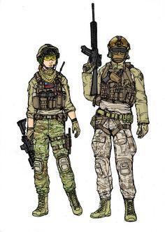 USMC Assaulter class by pimphand on DeviantArt