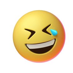 Joy Laughing Sticker by Emoji for iOS & Android Gif Animated Images, Animated Smiley Faces, Funny Emoji Faces, Animated Emoticons, Funny Emoticons, Emoji Images, Emoji Pictures, Happy Face Emoticon, Emoticon Faces