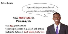 Meet our new math ‪#‎tutor‬ Alexander. He lives in ‪#Pomona‬, ‪CA‬ and specializes in ‪‎SAT‬ ‪‎Math‬, ‪‎Trigonometry‬, ‪ACT‬: http://www.tutorz.com/blog/2016/02/new-math-tutor-in-pomona-ca/