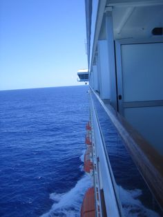 The beautiful balcony view from a Carnival ship. More cruise ship photos at Cru… - All About Balcony Carnival Ships, Carnival Spirit, Cruise Tips, Cruise Vacation, Caribbean Cruise, Royal Caribbean, Fantastic Voyage, Cruise Reviews, Beautiful Places
