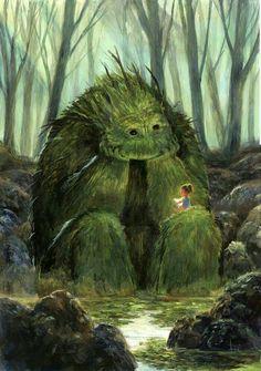 Precious! Teaching the monster.....