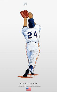 Willie Mays, Giants Baseball, The Outfield, San Francisco Giants, New York Giants, Mlb, Movie Posters, Film Poster, Popcorn Posters