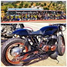 Venice Vintage Motorcycle Club in Malibu