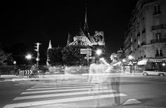 Ghost couple at Notre Dame