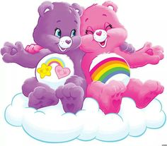 Care Bears: Best Friend Bear and Cheer Bear