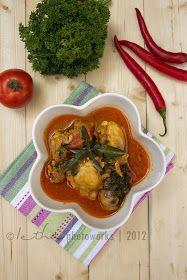 My Little Kitchen: Ayam Woku Belanga (Chicken with Spicy Chilli Woku Sauce)