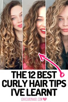 Shampoo For Curly Hair, Fine Curly Hair, Curly Hair Tips, Curly Hair Care, Curly Hair Layers, Curly Girl, Wavy Hair, Best Curly Haircuts, Layered Curly Hairstyles