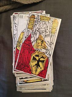 The Empress Card from Tarot de Budapest, Tarot Sheet Revival, Sullivan Hismans (2017)