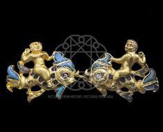 Afghanistan: Scythian Gold ornament from Tillia Tepe.