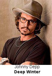 Johnny Depp is Deep Winter