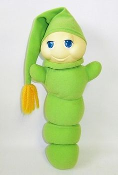 Sleeping with your Glo Worm — and getting creeped out by that softly glowing face staring straight through you in the middle of the night. | 53 Things Only '80s Girls Can Understand