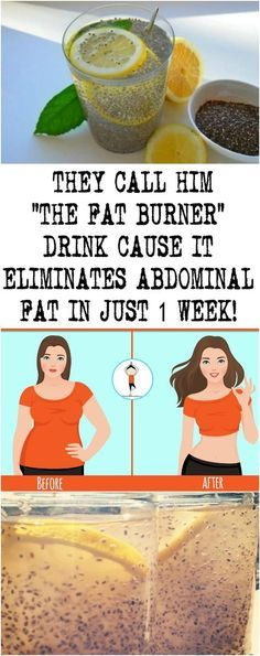 """THEY CALL HIM """" THE FAT BURNER"""" DRINK CAUSE IT ELIMINATES ABDOMINAL FAT IN JUST 1 WEEK!"""