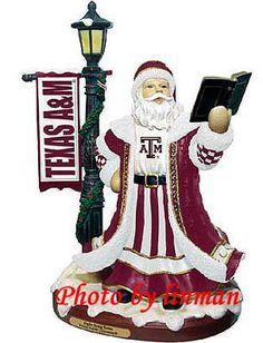 Texas A M University Fight Song Santa Lted NIB