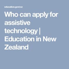 Examples of students using assistive technology Assistive Technology, Educational Technology, Engage In Learning, Spectrum Disorder, Dyslexia, Special Education, How To Apply, Canning, Students