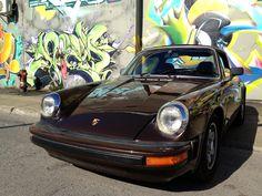 Brown Porsche 911 Targa