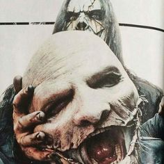 Mick Thomson and Corey Taylor