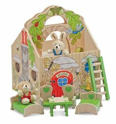 Buying Melissa & Doug Fold & Go Woodland Treehouse Discount !! - http://www.buyinexpensivebestcheap.com/41187/buying-melissa-doug-fold-go-woodland-treehouse-discount/?utm_source=PN&utm_medium=marketingfromhome777%40gmail.com&utm_campaign=SNAP%2Bfrom%2BOnline+Shopping+-+The+Best+Deals%2C+Bargains+and+Offers+to+Save+You+Money   2 to 4 Years, Dollhouses, Educational Toys, Gifts For 2 Year Olds, Gifts For 3 Year Olds, Gifts For 4 Year Olds, Gifts For Four Year Olds, Gifts For Th