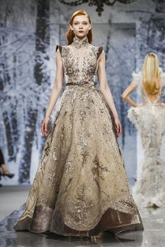~ Living a Beautiful Life ~ Ziad Nakad Haute Couture осень-зима myfashion_diary Style Haute Couture, Couture Fashion, Runway Fashion, Paris Fashion, Haute Couture Gowns, Fashion Week, Fashion Show, Live Fashion, Fashion Night