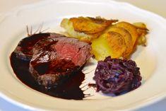 Solomillo al vino tinto Carne, Steak, Food, Beef, Lamb, Ox, Health, Essen, Eten