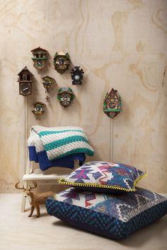 KAS Alrami Cushions House Design, Throw Pillows, Bed, Interior, Home, Cushions, Stream Bed, Indoor, Decorative Pillows