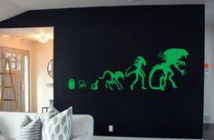 Alien Evolution Aliens Si-Fi Horror Space by BeaCreativeDesigner
