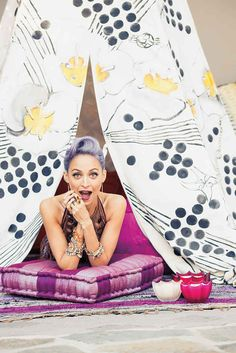"""Nicole Richie's Purple Hair Steals The Show On The Cover Of """"Paper"""" Magazine"""
