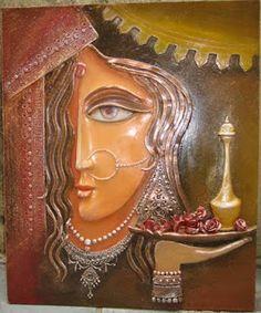 Muralidhar's creations: Gallery - Clay Paintings