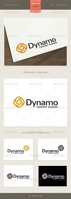 Dynamo — Vector EPS #studio #dynamo • Available here → https://graphicriver.net/item/dynamo/4509083?ref=pxcr