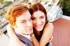Michael C. Hall and Jennifer Carpenter AKA Debra and Dexter Morgan - the best! Deb Morgan, Dexter Morgan, Jennifer Carpenter, Dexter Tv Series, Michael C. Hall, Six Feet Under, Getting Back Together, Best Couple, My Heart Is Breaking